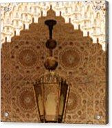 Islamic Plasterwork Acrylic Print