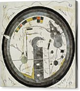 Islamic World Map, 10th Century Acrylic Print
