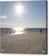 Island Beachwalkers Acrylic Print