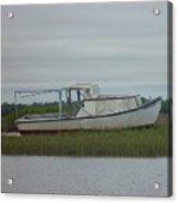 Island Boat Two Acrylic Print