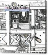 Island Cafe Acrylic Print