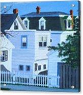 Island Heights Back Yards Acrylic Print
