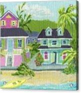 Island Houses Acrylic Print