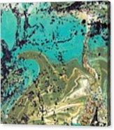 Island Lagoon Acrylic Print