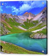 Island Lake Acrylic Print