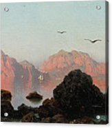 Island Of Capri Acrylic Print