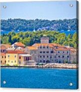 Island Of Krapanj Waterfront View Acrylic Print