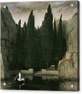Island Of The Dead Acrylic Print