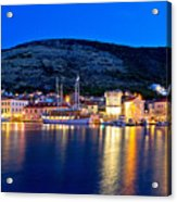Island Of Vis Evening View Acrylic Print