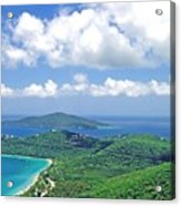 Island Paradise Acrylic Print