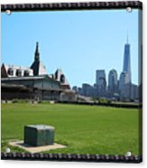 Island Park Elise Museaum Of American Immigration Journey Trip To Newyork Travel Zone America Photog Acrylic Print