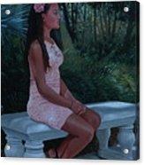 Island Princess Acrylic Print