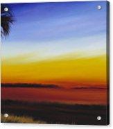 Island River Palmetto Acrylic Print