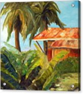 Island Sugar Shack Acrylic Print