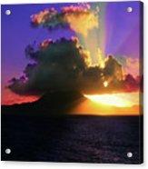 Island Sunrise Acrylic Print