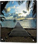 Island Sunset Acrylic Print