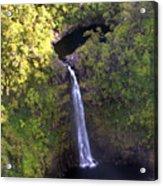 Island Waterfall Acrylic Print