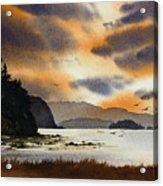 Islands Autumn Sky Acrylic Print