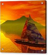 Islandside Acrylic Print