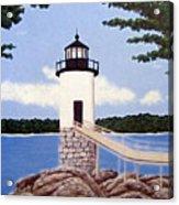 Isle Au Haut Lighthouse Acrylic Print