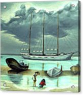 Isle Of Mujeres Acrylic Print