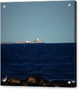 Isle Of Shoals From Afar Acrylic Print