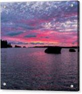 Isle Royale Belle Isle Dawn Acrylic Print