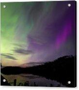 Isle Royale Pickerel Cove Aurora Acrylic Print