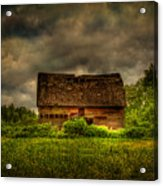Isolated Barn Acrylic Print