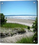 Isolated Beach Acrylic Print