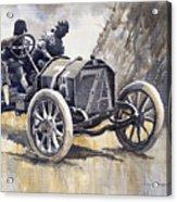 Isotta Fraschini 50hp 1908 Targa Florio  Acrylic Print