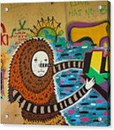 Israel Graffiti #2 Acrylic Print
