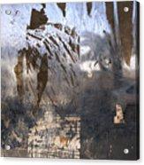 Israel, Jerusalem Abstract Of A Window Acrylic Print