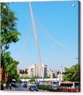 Israel, Jerusalem  Acrylic Print