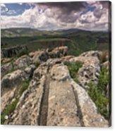 Israel Landscape Acrylic Print