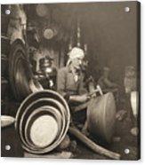Israel: Metal Workers, 1938 Acrylic Print