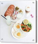 Israeli Breakfast Acrylic Print