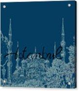 Istanbul Blue Mosque Acrylic Print