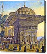 Istanbul Outdoor Bazaar Acrylic Print