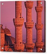 Istanbul, Turkey, Blue Mosque Acrylic Print by Grant Faint