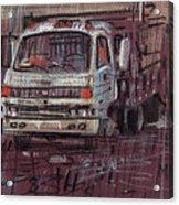 Isuzo Truck Acrylic Print