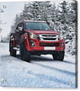 Isuzu In The Snow Acrylic Print