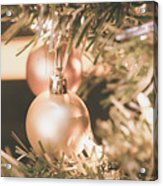 It Is Christmas 3 Acrylic Print