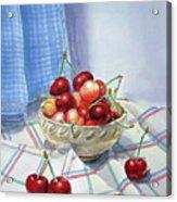 It Is Raining Cherries Acrylic Print