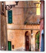 Italian Alley Acrylic Print