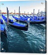 Italian Blue Acrylic Print