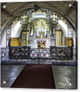 Italian Chapel Interior Acrylic Print