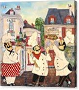 Italian Chefs-jp3042 Acrylic Print