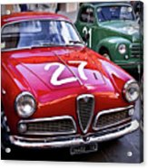 Italian Classics Alfa Romeo Acrylic Print