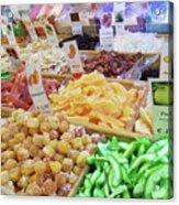 Italian Farmers Market Dried Fruits Acrylic Print